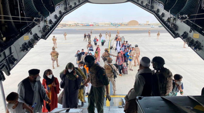 Evacuations from Kabul Airport